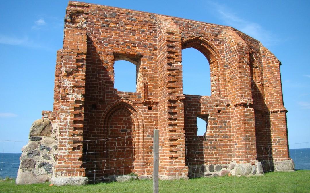 Wykonano trójwymiarową dokumentację słynnego kościoła w Trzęsaczu