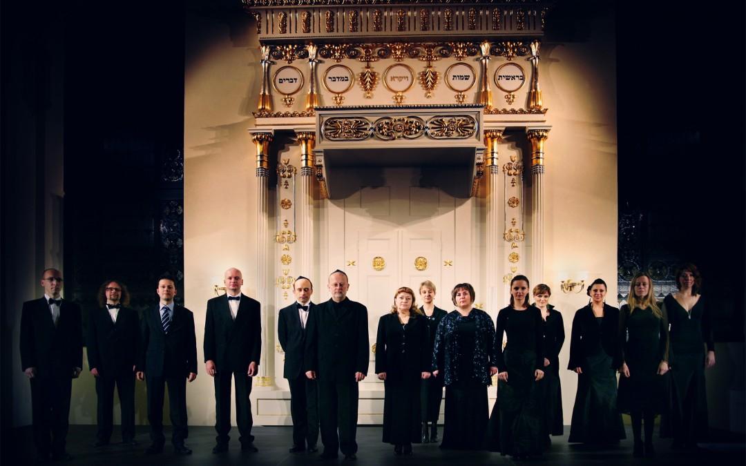 Koncert Chóru Synagogi Pod Białym Bocianem w 78. Rocznicę Nocy Kryształowej